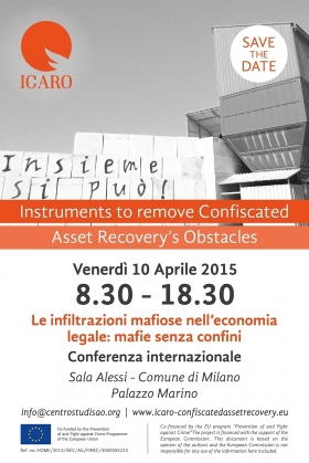 Mafia's infiltration into the legal economy: mafias without borders - Centro di Iniziativa Europea